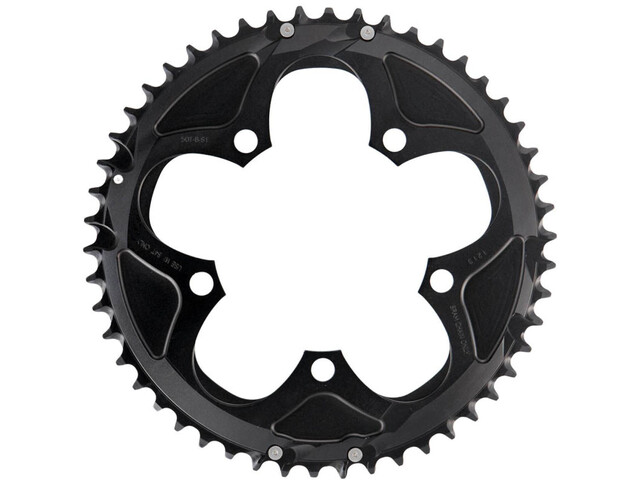 SRAM Road Chainring for GXP / BB30 2x10x black